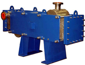 wide gap plate exchangers